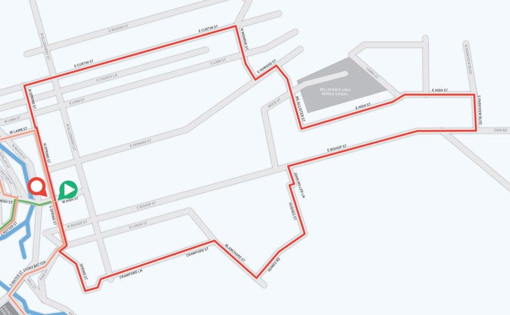 Map-4-Mile